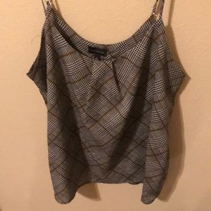 The Limited plaid tank.
